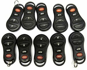 Lot Of 10 Gq43vt9t Oem Neon Keyless Entry Remote Transmitter Clicker Fob Control