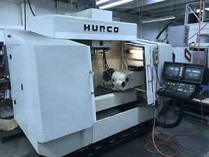 Hurco Bmc4020 Cnc Vmc 5 axis Table 6500rpm Cat40 40 X 20 1997