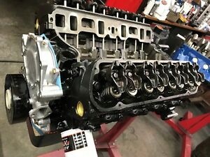 331 Ford Long Block engine Cradle with Oil Pan Tc Ford Iron Heads Direct Fit