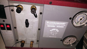 Fluorotech Oil Less Commercial Refrigerant Recovery Fluoromizer Fuoro Tech 3000h