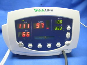 Welch Allyn 53000 53nto Vital Signs Monitor Certified Warranty New Battery