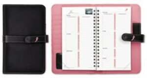 Day timer Pink Ribbon Starter Set 7 1 4 X 4 1 4 Pink white