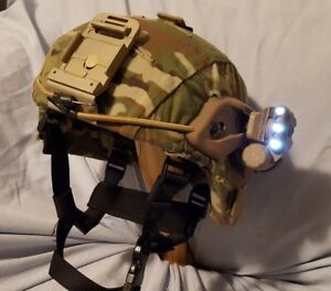 Military Ballistic Helmet ACH Reconditioned W NEW Special Operation Accessories