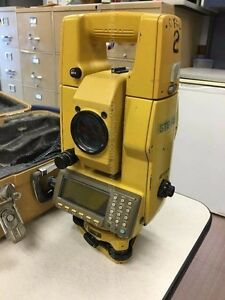 Topcon Gts 500 Dual Display Total Station