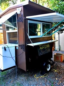 Nsf Hot Dog Coffee Shaved Ice Mobile Food Cart Catering Trailer Kiosk Stand