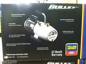 Yello Jacket Bullet 7 Cfm Vacuum Pump 93600