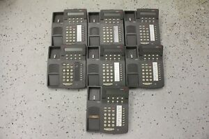 Lot Of 7 Avaya Lucent Definity Office 6408d Phones 108163924 Tilted Display