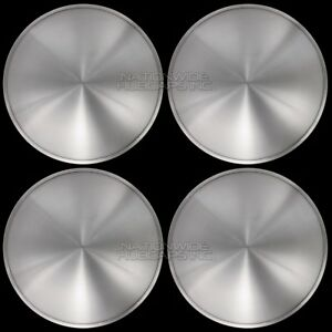 15 Set Of 4 Solid Moon Wheel Covers Snap On Hub Caps Fit R15 Tire Steel Rim