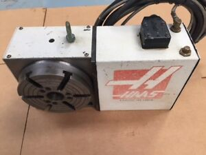 Haas Hrt 210 Brush Rotary Table Indexer 4th Axis 90 Days Warranty