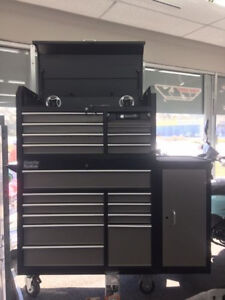 New Premier 56 3 Piece Combo Rolling Tool Box Sound System Included