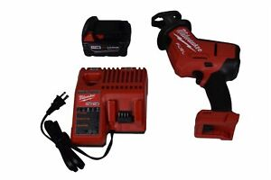 Milwaukee 2719 21 M18 18 Volt Fuel Hackzall One hand Reciprocating Saw Kit