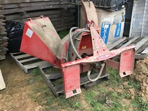 Farmi Valby Ch160 Skid Steer Driven Chipper 10 Only 2 Hours On It