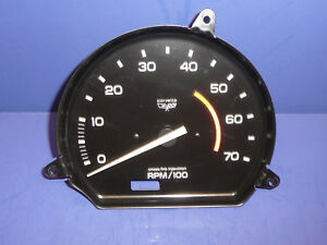 Rebuilt 1982 Chevy Corvette Tachometer 5300 Redline New Circuit Board Ct10