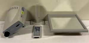Topcon Acp 8 Auto Chart Projector With Wall Mount Remote And Mirror