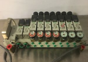 Numatics Manifold W 9 Solenoid Valves Twice A Year Inventory Reduction