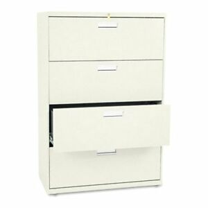 Hon 600 Series 36 Inch Four Drawer Lateral File