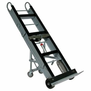Wesco Aluminum 4 Wheel Kick out Appliance vending Hand Truck