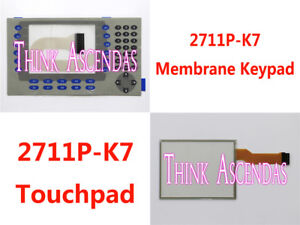 1pcs 2711p k7 2711p k7c4d6 2711p k7c4d8 2711p k7c4d9 Membrane Keypad touchpad