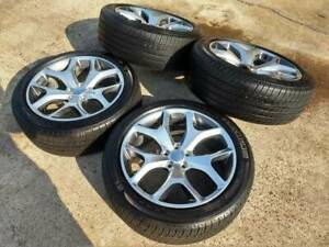 20 Dodge Charger Challenger Oem Wheels Rims Tires 2523 2014 2015 2016 2017 2018