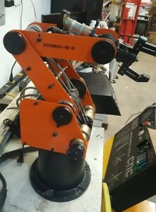 Scorbot er Iii Eshed Robotec Gripper Robot With Controller