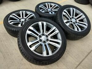 22 Chevy Tahoe Escalade Gmc Chrome Oem Wheels Rims Tires 2016 2017 2018 5660