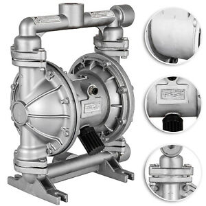 Air operated Double Diaphragm Pump Petroleum Fluids 24 Gpm 1 2in Air Inlet