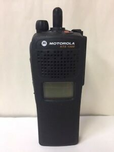 Motorola Xts1500 Model 1 5 Portable Radio 700 800 Mhz No Keypad