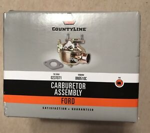 New Countyline Tisco Ford Carburetor Assembly 2n 8n And 9n Ships Free