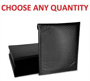 0 6x10 Black Poly Bubble Mailers Shipping Mailing Padded Envelopes 6 X 9