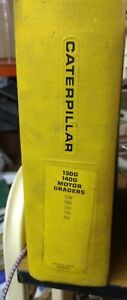 Caterpillar 130g 140g Motor Grader Service Manual