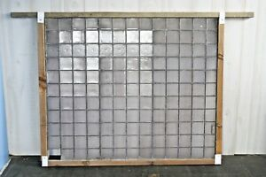Antique Frank Lloyd Wright Luxfer Leaded Glass Window Panel Architectural C 1900