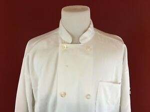 Uncommon Threads Lot Of 3 White Xl Poly cotton Uniform Chef Coat Jackets