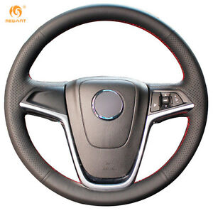 Leather Steering Wheel Cover For Buick Excelle Xt Gt Encore Opel Mokka Ob08