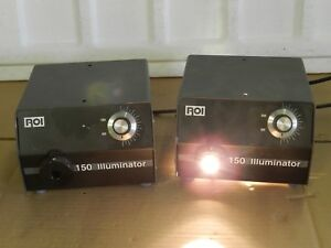 Roi Ram Optical 150 Portable Benchtop Lot Of 2