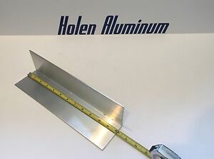 4 Pieces 2 X 2 X 1 8 X 12 Long Aluminum Angle 6063 t52