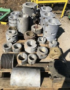 Large Lot Of Water Cooled Band Heater Extrusion Cast Aluminum Bronze Brass