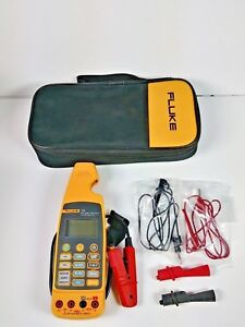 Fluke 773 Milliamp Process Clamp Meter With Leads And Soft Case