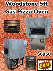 Woodstone Gas Hearth Pizza Oven Model Ws ms 5 gg ng Natural Gas