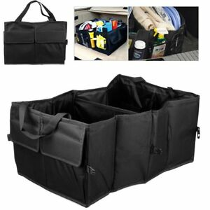 Universal Multipurpose Cargo Trunk Organizer Storage Car Console Collapsible