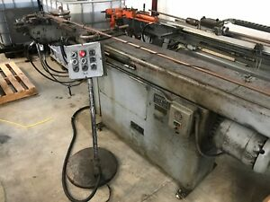 Leonard Precision Model 62 Hydraulic Mandrel Tube Bender