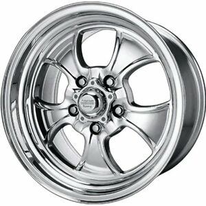 American Racing Vintage Hopster 15x8 Polished Wheel Rim 5x4 75 With A 0mm Offs