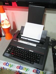 Brother Ax 325 Electronic Typewriter Great Prints Freeship
