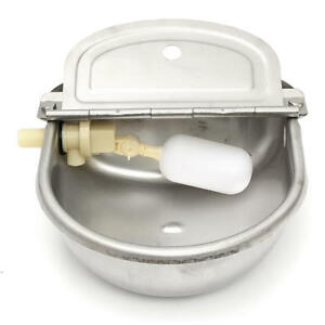 2 5l Stainless Steel Automatic Water Trough Float Valve Farm Horse Cow Sheep