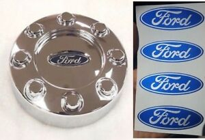 4pc Ford F 250 F 350 Center Cap Wheel Hub Logo Decal Stickers Emblem 2 5 X 1