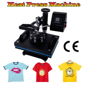 12 X 10 Dual Digital Heat Press Machine T shirt Sublimation Printer Transfer