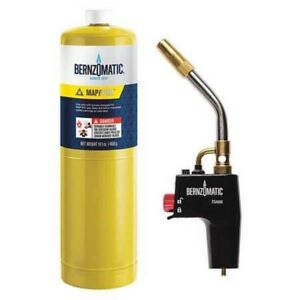 Bernzomatic Ts4000kc Trigger start Torch Kit 2 piece