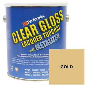Performix Plasti Dip Metalizer 1 Gallon Can Gold