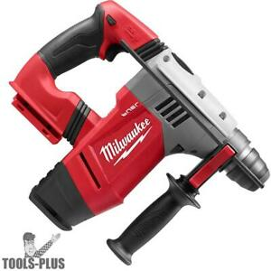 Milwaukee 0757 20 M28 Fuel 1 1 8 Sds Plus Rotary Hammer tool Only New
