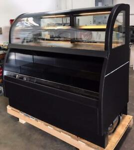 Structural Concepts Sb5766 Bakery Restaurant Equipment Curved Glass Display Case