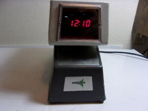Widmer Year month day am pm time Stamp Model T led 3 Time Clock